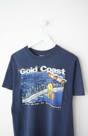 VINTAGE TWEETY GOLD COAST T-SHIRT (S) 96