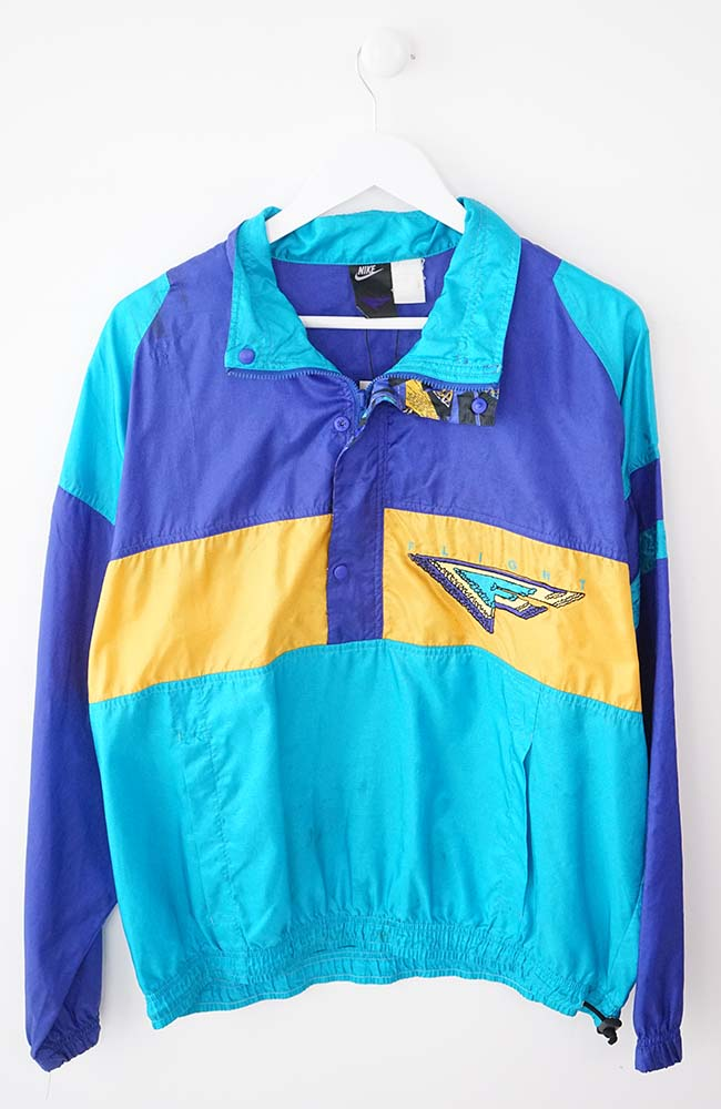 VINTAGE NIKE FLIGHT JACKET (S)