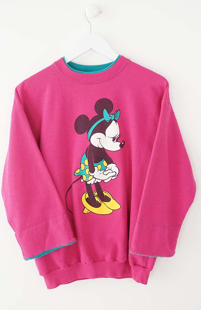 VINTAGE MICKEY SWEATER (S)
