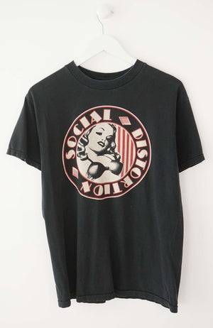 VINTAGE SOCIAL DISTORTION T-SHIRT (M)