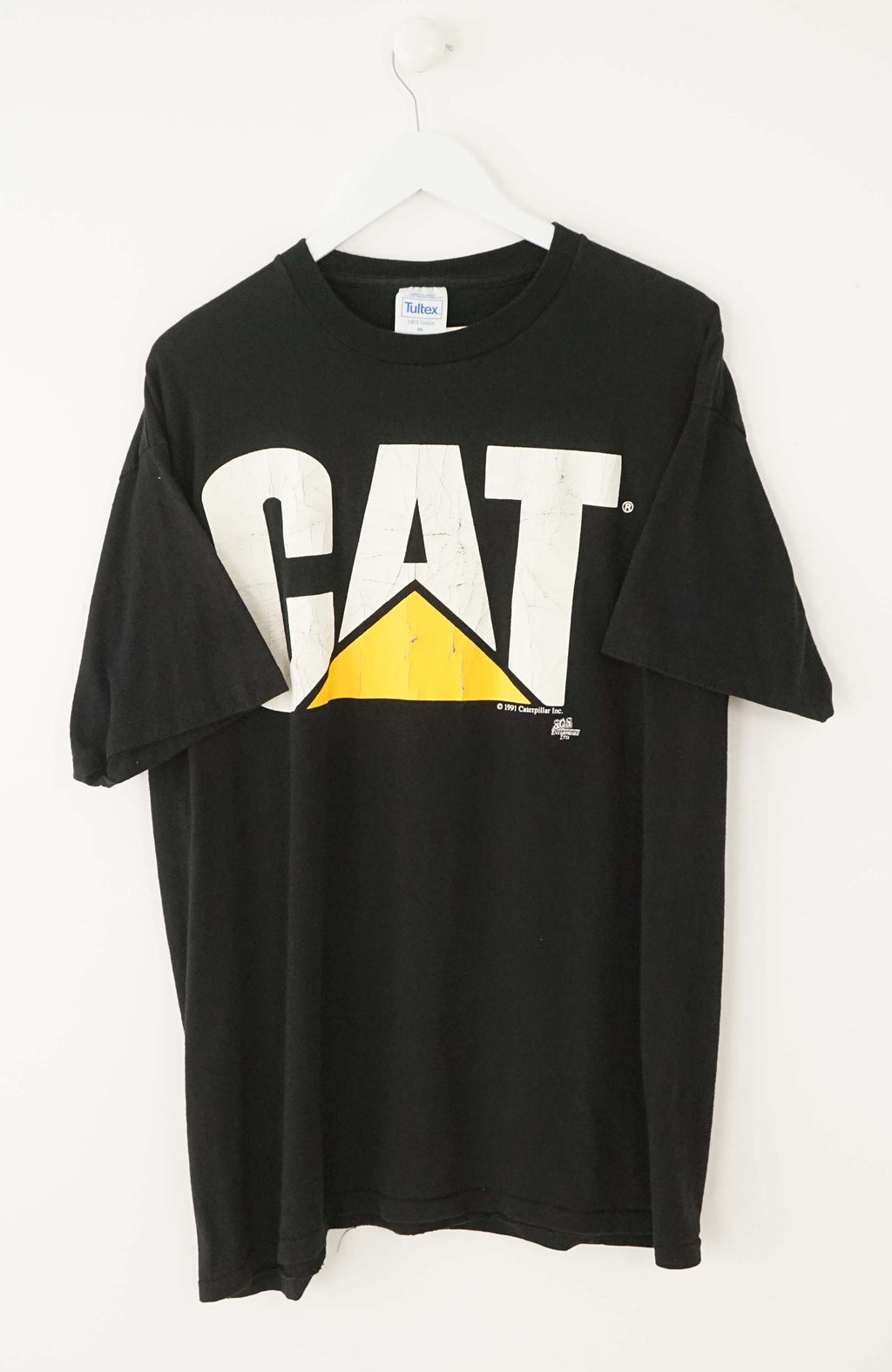 VINTAGE CAT T-SHIRT (XL)