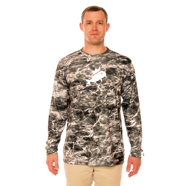 Men's Camo Shirt - Manta Grey