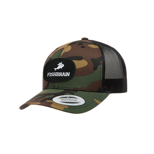 Fishbrain Retro Trucker Hat - Camo