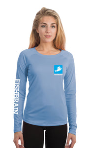 Women's Long-Sleeve Shirt - Columbia Blue