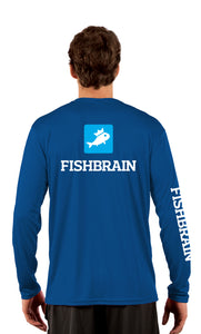 Fishbrain Men's Long-Sleeve Shirt - Royal Blue