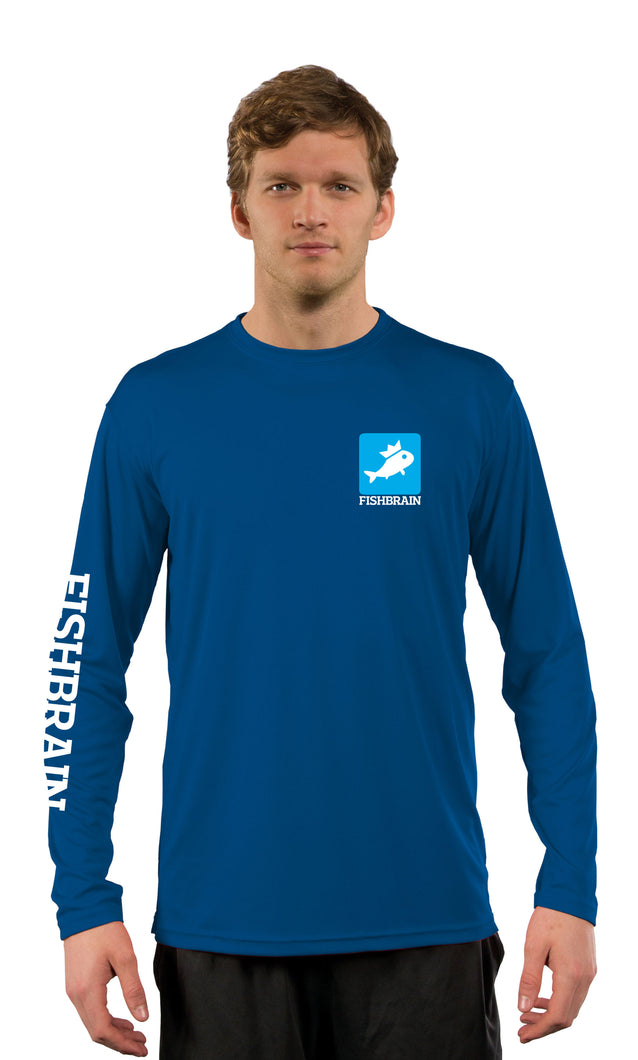 Men's Long-Sleeve Shirt - Royal Blue