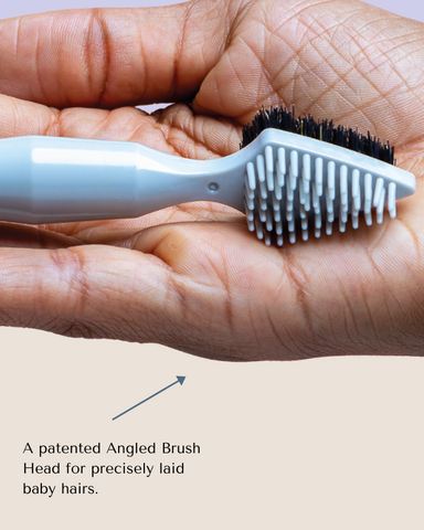edge brush with pointed end