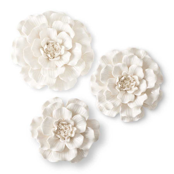 Ceramic Wall Flowers | Glam
