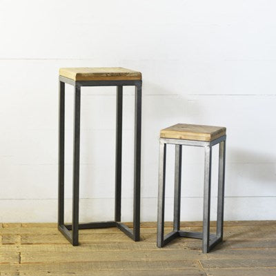 Tin Accent Table