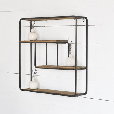 24x24 Modern Wall Shelf
