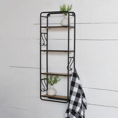 "32"" Wood Wall Shelf"