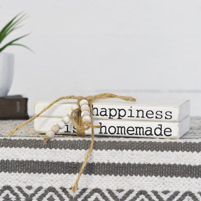 Happiness Is Homemade Faux Book Set | 8""
