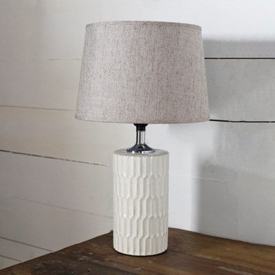 Tall Ripple Lamp