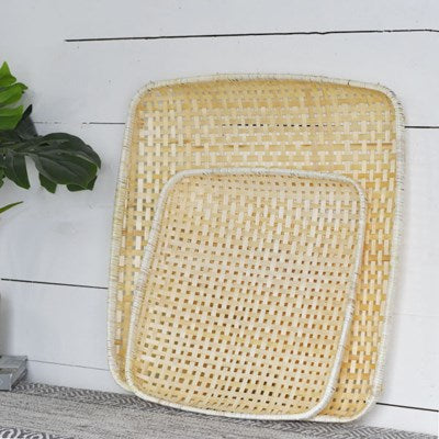 Natural Bamboo Trays