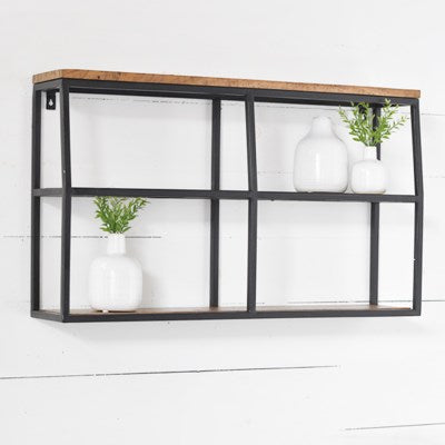 "32x18"" Wood Wall Shelf"