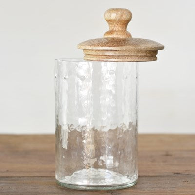 "5"" Glass Canister"