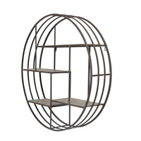 Round Metal Wall Shelf | 32""