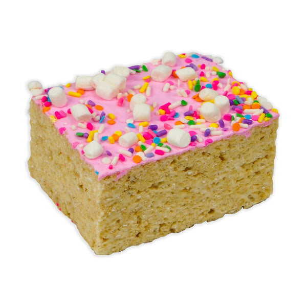 Jumbo Sprinkles Rice Krispie Treat