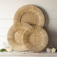 Bamboo Wall Circles