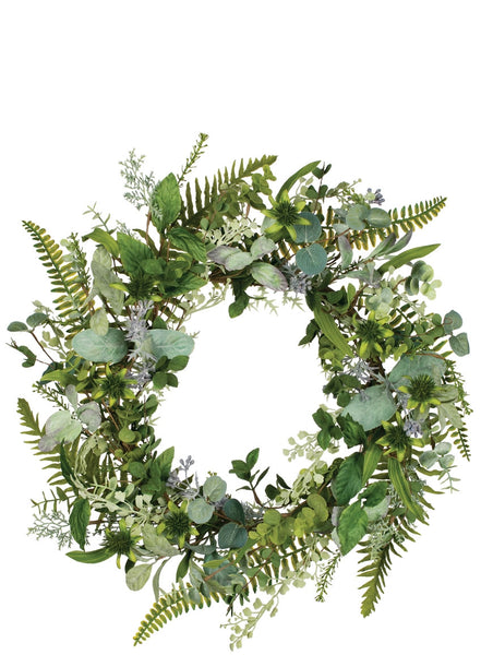 Mixed Herbal Wreath