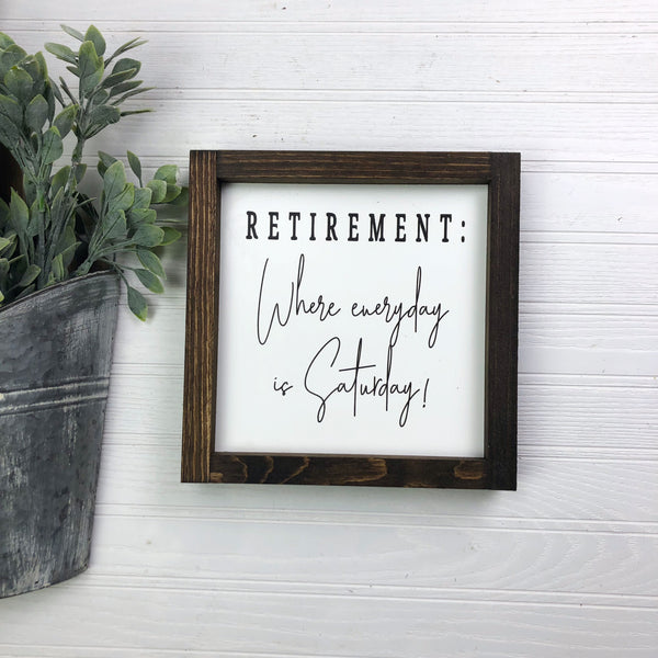 8x8 Retirement: Where Everyday Is Saturday