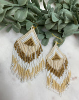 Myla Beaded Dangling Earrings