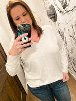 Alyssa V-Neck Soft Sweater
