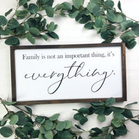 12x24 Family Is Not An Important Thing