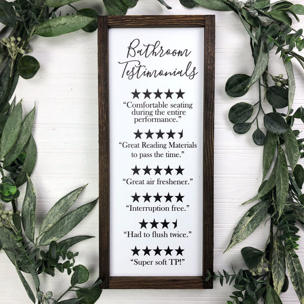 8x20 Bathroom Testimonials