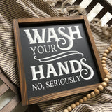 12x12 Wash Your Hands