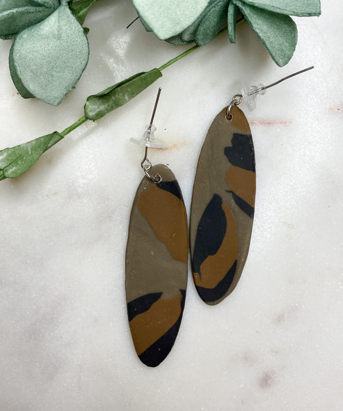 Myla Long Clay Earrings