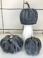 Weathered Pumpkin | Fall | Blueberry