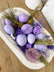 Lavender and Egg Filler Easter