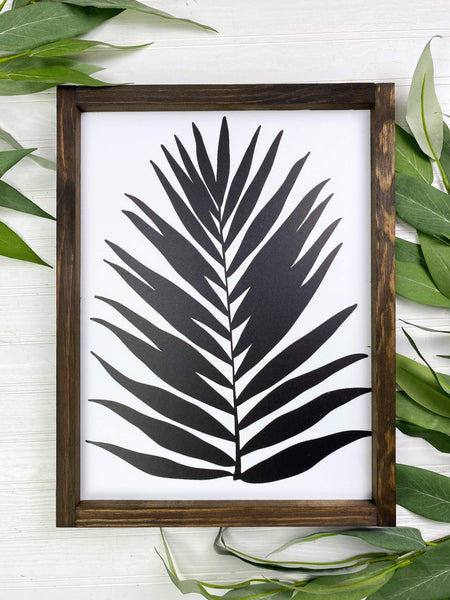 Palm Leaf Sign