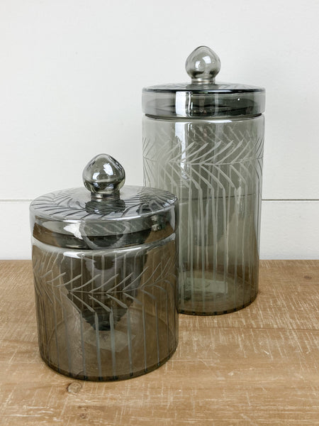 Deco Glass Jars | Glam