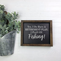 8x10 Retirement Plan Fishing
