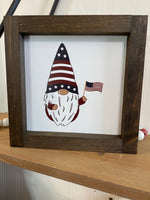 6x6 Gnome with Flag