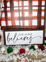 Watercolor Red & White Plaid