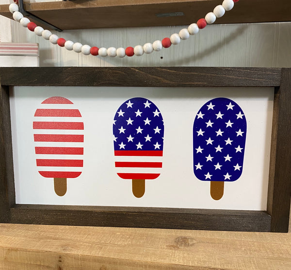 6x12 3 Popsicle Flags