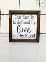 8x8 Our Family is Defined