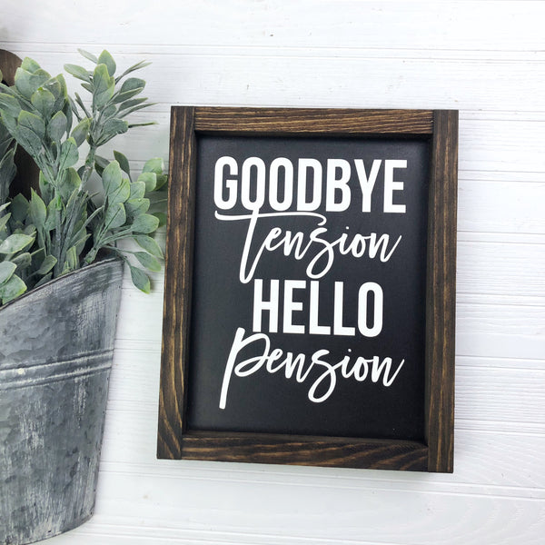 8x10 Goodbye Tension