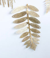 Metal Botanical Wall Hanging