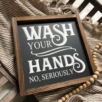 8x8 Wash Your Hands