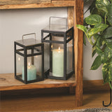 Black and Glass Lanterns