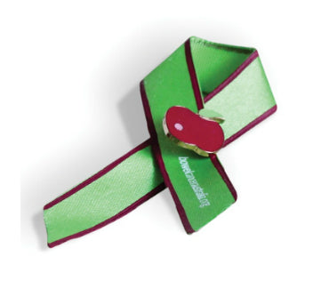 Bowel Cancer Awareness Ribbon