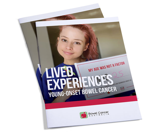 Lived Experiences - Young Onset Bowel Cancer (download only)