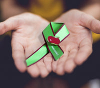 Virtual Bowel Cancer Awareness Ribbon