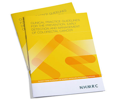 Clinical Practice Guidelines for the Prevention, Early Detection & Management of Colorectal Cancer (download only)