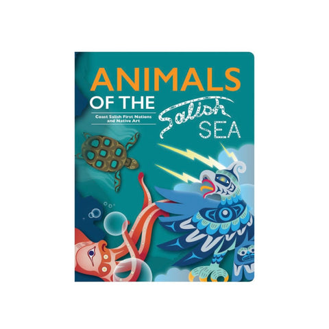 Animals of the Salish Sea - Children's Board Book