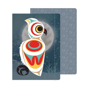 Spirit Owl - Hardcover Journal